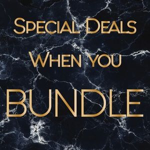 Bundle 2 or more items for special deal!